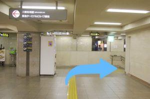 阪急梅田駅からの道順2