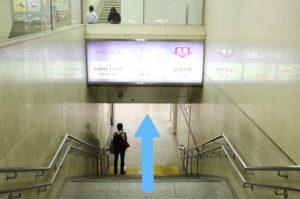 阪急梅田駅からの道順3