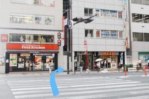 阪急梅田駅からの道順6